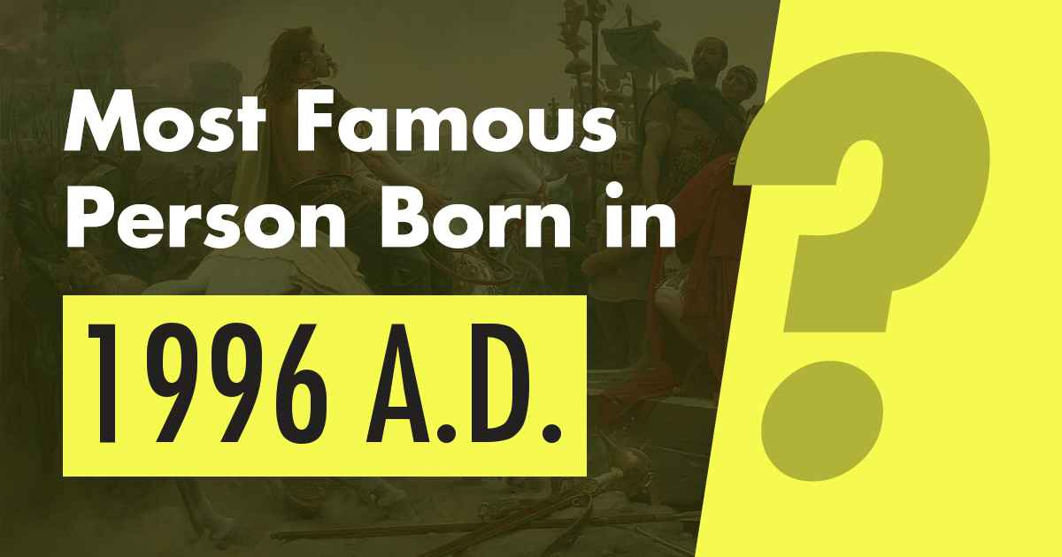 Famous People Born in 1996 - #1 is Lorde